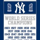 New York Yankees Flag 3X5FT digital one side printing custom banner