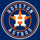 Houston Astros Large Flag 3'x5' Banner brass metal holes Flag