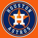 Houston Astros Large Flag 3'x5' Banner brass metal holes Flag