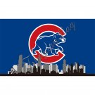 Chicago Cubs Team Flag 2016 World Series Champions 150X90CM Banner Star Custom Flag