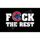 Chicago Cubs Team Flag 2016 World Series Champions 150X90CM Banner Star Custom Flag