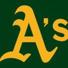 Oakland Athletics Flag Green background Flag 3' x 5' FT ML*B Banner brass metal holes Flag