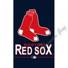 custom fan Banner with Boston Red Sox 90x150cm vertical 100D Polyester digital print