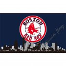 ML*B Boston Red Sox Large Outdoor 3x5 Banner Flag