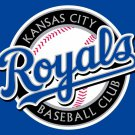 Kansas City Royals custom flag 3ftx5ft polyester white sleeve with 2 Metal Grommets 3ft x 5ft