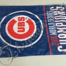 Chicago Cubs World Series Champions 2016 Flag 3x5 ft custom Banner 90x150cm