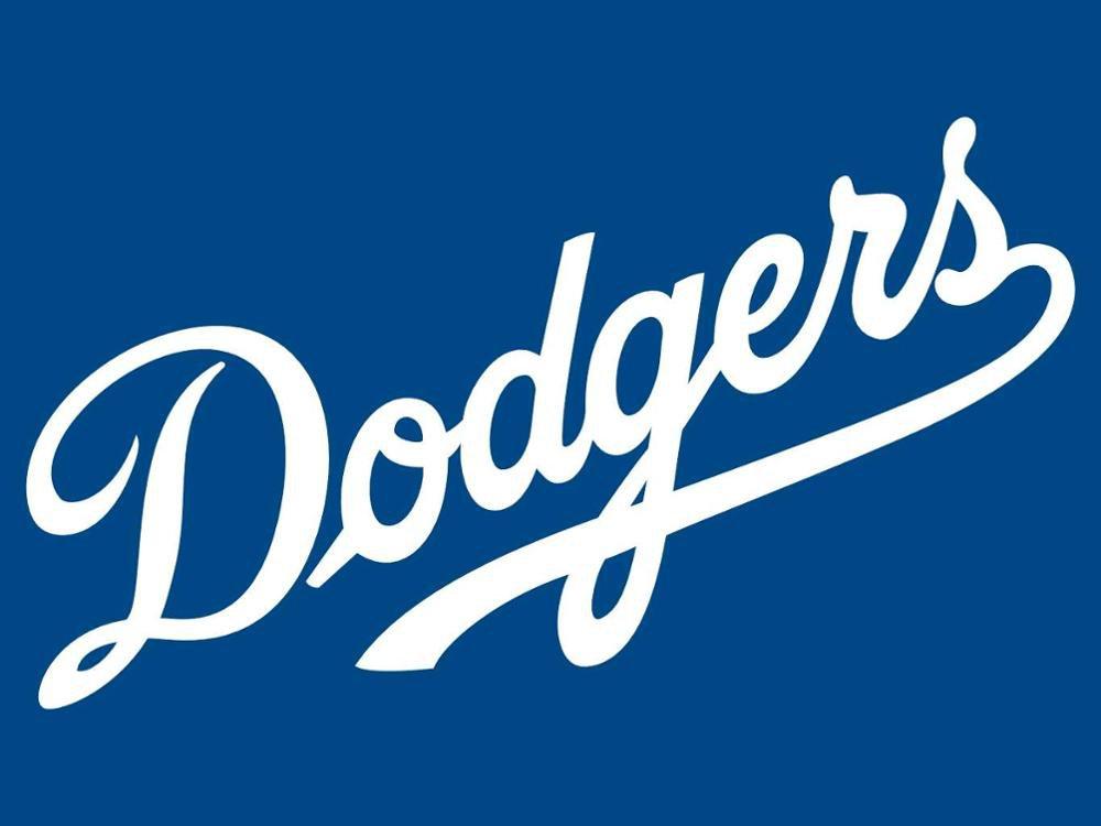 ML*B Los Angeles Dodgers flag 3ftx5ft Banner 100D Polyester Flag metal Grommets