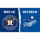Houston Astros vs Los Angeles Dodgers 2017 World Series Champions Large Indoor Outdoor
