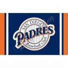 San Diego Padres flag 3ftx5ft Banner 100D Polyester Flag metal Grommets
