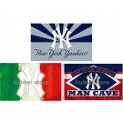 New York Yankees Flag 3ft x 5ft Polyester MLB New York Yankees Banner