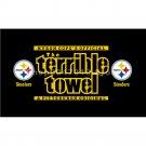 Pittsburgh Steelers Premium Teams Flag 3 x 5ft digital print 100% polyester steelers flag
