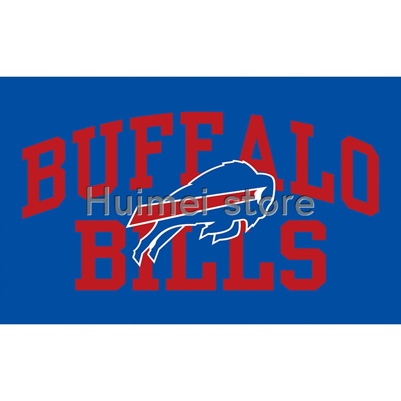 football soccer club Buffalo Bills banner polyester 90*150cm Buffalo Bills flag