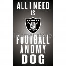 Oakland Raiders Flags 90x150cm 3x5ft Polyester Digital Print Flag