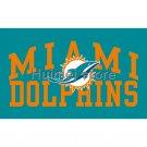 Miami Dolphins Flag 90x150cm Polyester 3x5ft Digital Print Flag