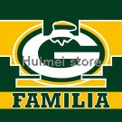 Green Bay Packers flag 90x150cm Familia style digital print custom