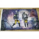 150x90cm Pittsburgh Steelers players banner 3ft x 5ft