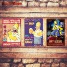 BIRTHDAYS BEER Plaque Vintage Metal Tin Signs Home Bar Pub Decorative Metal Plat