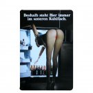 Plaque Beer In Fridge Vintage Metal Decorative Sexy Girl Plates ART Wall Plates
