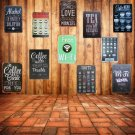 Free WIFI Shabby Chic Home Bar Cafe Vintage Wall Decor Art Metal Tin Signs Pub T