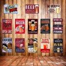 Retro Plaque Premium BEER Metal Tin Signs Vintage BAR Pub Home Wall Decor Art Ce