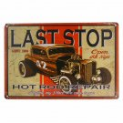 Retro Classic License Plate Tin Sign Art Wall Decor Garage House Cafe Bar Vintag