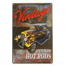 Last Stop Car Metal Signs Vintage Iron Poster Retro Plaque Wall Decor Plate Tin