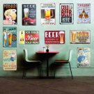 Everyone Needs Cold BEER Vintage Metal Tin Signs Home Bar PUB Decor Club Decorat