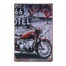 Vintage Car Motorcycles Garage Metal Tin Sign Bar Pub Home Wall Decor Shabby Chi