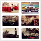 HD Car Vintage Metal Painting Decorative Building Plates Plaque ART Poster Wall