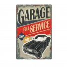 Vintage Full Service Garage Wall Decor Tin Sign Pub Garage Wall Painting Metal P