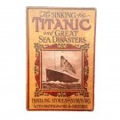 TITANIC THE ORLDS LARGEST LINER Vintage Metal Tin Sign Bar Pub Cafe Home Wall De