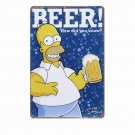 BEER HOW DID YOU KNOW Decorative Metal Tin Signs Plate Pub Bar Vintage Home Deco
