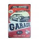 Retro France Car Chic Home Bar Vintage Metal Signs Garage Decor Shabby Chic Tin