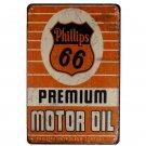 Plaques Premium MOTOR OIL Vintage Decorative Plates Motorcycle Home Bar Pub Club