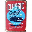 Glassic Garage Wall Art Wall Stickers Home Decor Wall Decalsmetal Tin Signs Plat