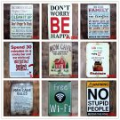 MOM CAVE Vintage Metal Tin Signs Cafe Bar Pub Club Home Wall Decor ART Poster Re