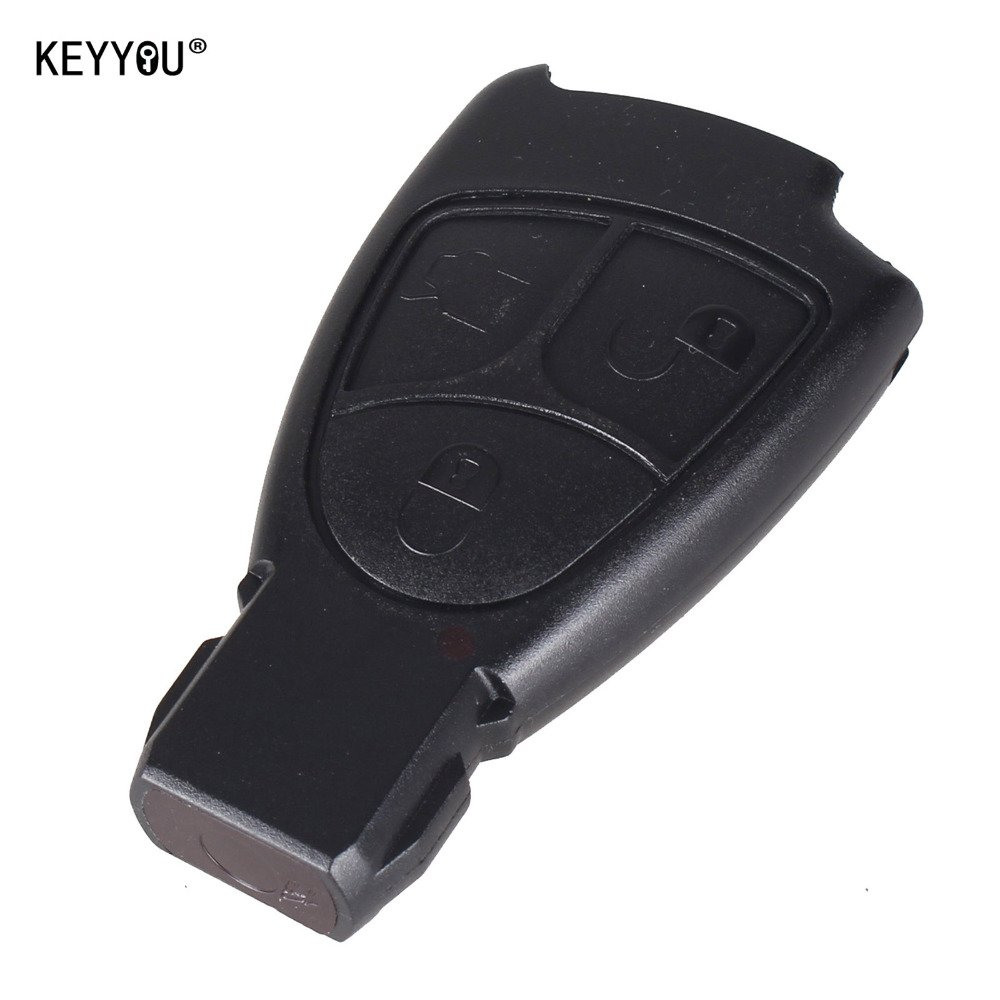 NEW 10pcs/lot 3 BUTTON REMOTE KEY FOB SHELL CASE FOR MERCEDES BENZ B C CL E S
