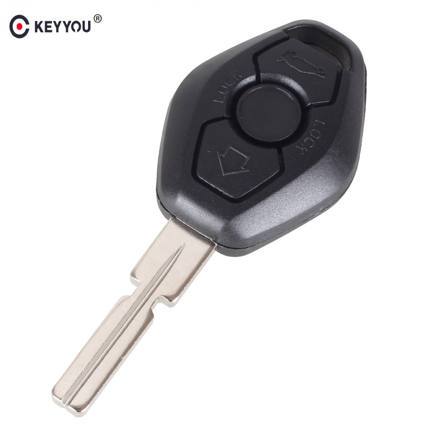 NEW 3 BUTTON  UNCUT KEY REMOTE SHELL CASE Fit FOR BMW 3 5 7 SERIES Z3 Z4 X3 X
