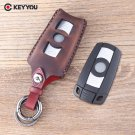 NEW Leather Car key Cover Cases For BMW 3 5 6 Series M3 M5 X1 X5 X6 Z4 Smart
