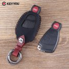 NEW 4 Buttons Keychain Key Bag For Mercedes Benz C E R CL SL Car Key Cover Le