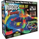 Magic Tracks 18FT 360Pcs Mega Set With LED Race Cars Colorful Glow In The Dark