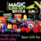 Magic Trick Set 50 Kinds Magic Play With DVD Teaching Professional Magic Tricks