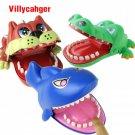 Large Bulldog Crocodile Shark Mouth Dentist Bite Finger Game Funny Novelty Gag