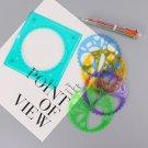 Spirograph Set Draw Spiral Design Interlocking Gears Wheel Pen Drawing Paint Toy