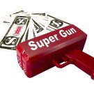 Toy Pistol Super Money Gun ABS Plastics Battery Operated Good For Fun And Party