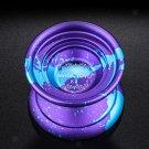 Magic YoYo K8 Unresponsive Alloy Yo Yo 1A 3A 5A String Trick Toy Blue Purple