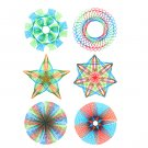 Kids Art Craft DIY Spirograph Spiral Drawing Stencil Rulers Educational Toys