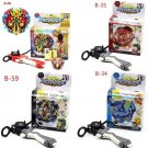Bey Blade Set With Launcher Kids Toys Burst Starter Beyblade Toy Zeno Excalibur