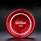 Magic YoYo N5 Unresponsive Alloy Yo Yo 1A 3A 5A String Trick Toys - Red