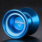 Magic YoYo N5 Unresponsive Alloy Yo Yo 1A 3A 5A String Trick Toys - Blue